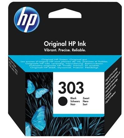 orig. HP Tintenpatrone T6N02AE Nr. 303 black/schwarz ca. 200 Seiten
