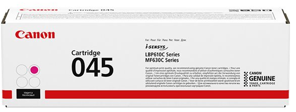 orig. CANON CRG 045 magenta Toner für LBP613Cdw, LBP611Cn MF635Cx, MF633Cdw, MF631Cn, ca.1300 Seiten