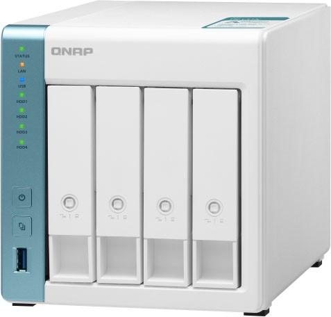 QNAP TS-431K 4-Bay NAS Annapurna Labs AL214 Quad core 1.7GHz