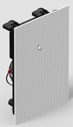 Sonos Sonos In-Wall by Sonance - Set bestehen aus 2 Lautsprechern