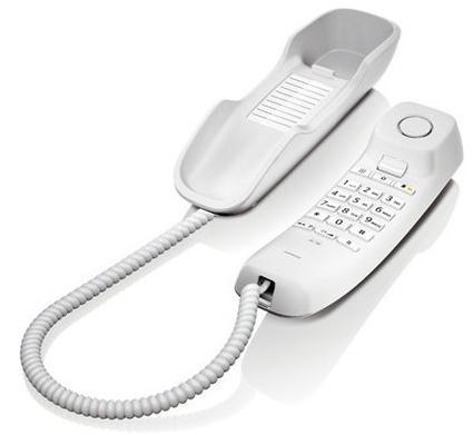 Gigaset DA210 Schnurgebundenes Telefon weiss