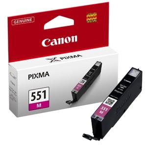 orig. CANON CLI-551 M Tinte magenta/rot fuer Pixma MG 6350 ~330 Seiten
