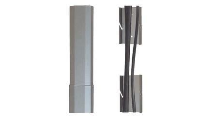 Novis Kabelkanal Vario Silber 90x150cm