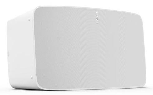 Sonos Five Matt Weiß -Die neueste TechnologieNoch mehr Speicherplatz und höhere Rechenleistung sorge