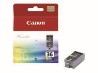orig. Tintenpatrone Canon CLI-36 Color/Farbe