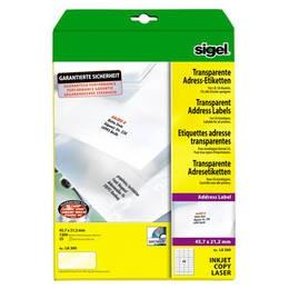 sigel Adress-Etiketten, 45,7 x 21,2 LA360