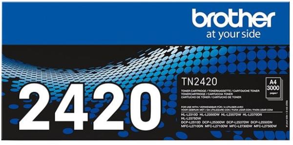 orig. Toner Brother TN-2420 ca. 3.000 Seiten Black/Schwarz