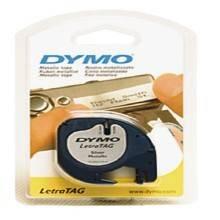 DYMO LetraTag Papier Etiketten-Band 12 mm x 4 m, weiss