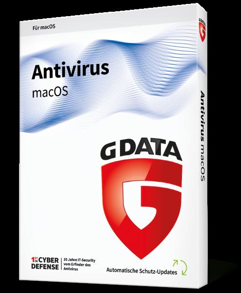 GDATA AntiVirus Vollversion Mac für 1 Jahr für 1 User