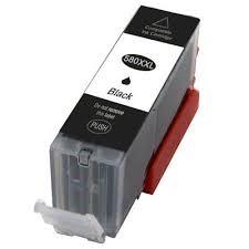 Kompatible Tintenpatrone Canon PGI-580PGBKXXL black/schwarz, 26ml für ca. 600 Seiten