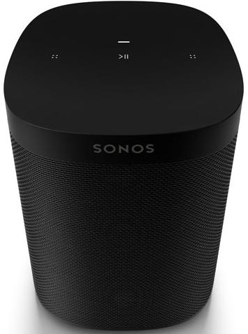 Sonos One SL, schwarz, ohne Sprachsteuerung