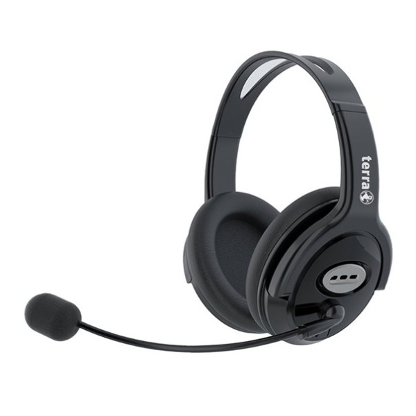 Terra Headset JP-HS1000 Schwarz