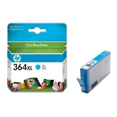 orig. Tintenpatrone HP CB323EE/Nr. 364XL, cyan/Blau Vivera
