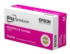 orig. Epson Tinte C13S020450 - PJIC4 mangenta/rot für PP-50/PP-100 ca 1000 Disks