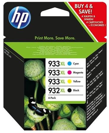 Orig. Tintenpatrone HP C2P42AE Nr. 932XL + 933XL Multi C/M/Y/BK