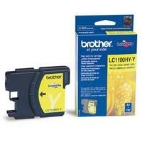 orig. Brother Tintenpatrone LC-1100HYY yellow/Gelb
