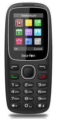 Bea-fon C65 Dual Sim black DE