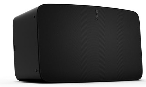 Sonos Five Matt Schwarz, Die neueste TechnologieNoch mehr Speicherplatz und höhere Rechenleistung