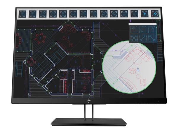 HP Z24i G2 60,96cm 24Zoll Display IPS LED Backlight 5ms 16:10 300cd/m2 VGA DP HDMI Pivot Hoehenv.