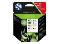 Orig. Tintenpatrone HP C2N92AE Nr. 920XL Multi Pack C/M/Y/BK