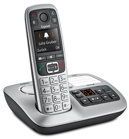 Gigaset E560A Schnurlostelefon DECT Clip mit AB