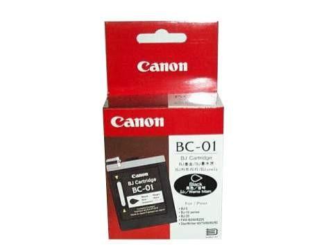 orig. Tintenpatrone Canon BC-01, black/Schwarz