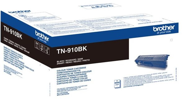 orig. BROTHER TN-910BK Tonerkassette Black/Schwarz ca. 9000 Seiten