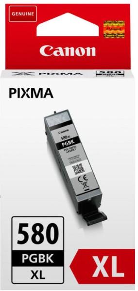 orig. Tintenpatrone Canon PGI-580XLPGBK black/schwarz, 18,5ml für ca. 400 Seiten