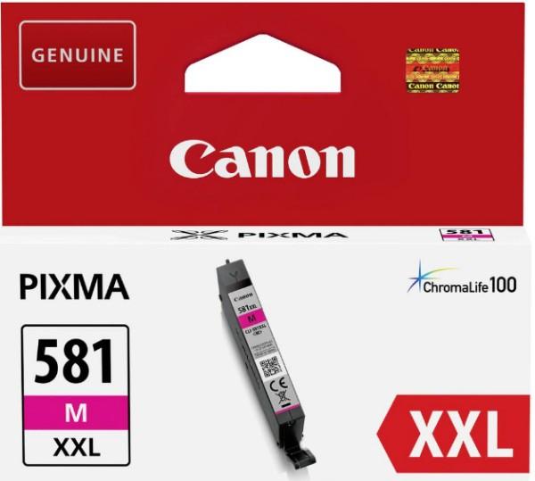 orig. Tintenpatrone Canon CLI-581XXLM Magenta/rot, 11,7ml für ca. 800 Seiten