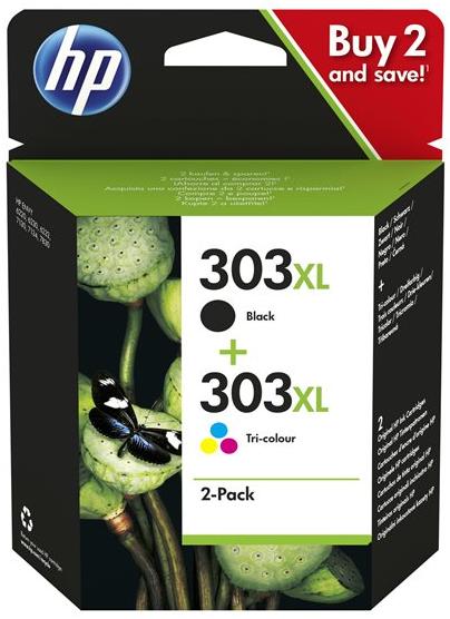 Orig. Tintenpatrone HP 303XL Mulitpack