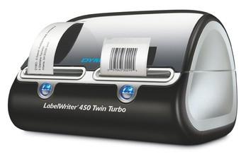 """DYMO Etikettendrucker """"LabelWriter 450 Twin Turbo"""" Auflösung: 600 x 300 dpi, für Etiketten bis 60"""