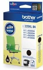 orig. Brother Tintenpatrone LC-229XLBK Black/Schwarz