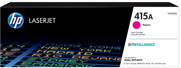 orig. Toner HP W2033A No. 415A mangenta/rot ca. 2.100 Seiten