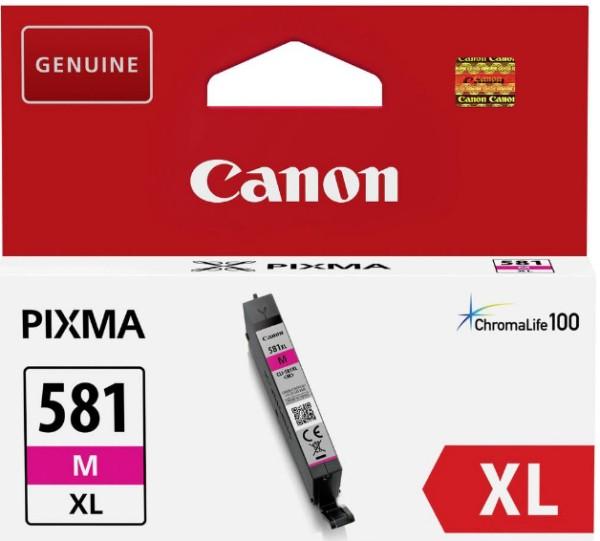 orig. Tintenpatrone Canon CLI-581XLM Magenta/rot, 8,3ml für ca. 500 Seiten