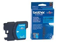 orig. Brother Tintenpatrone LC-1100C cyan/blau
