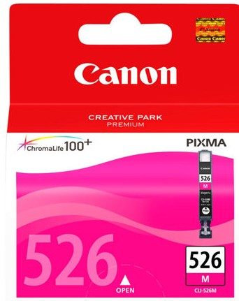 orig. CANON CLI-526M Tinte magenta für Pixma