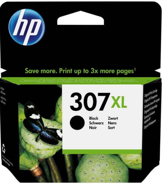 orig. HP Tintenpatrone 3YM64AE Nr. 307XL Black/Schwarz für ca 400 Seiten