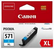 orig. Tintenpatrone Canon CLI-571XL C cyan/blau
