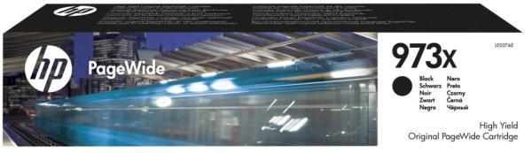 Orig. Tintenpatrone HP L0S07AE Nr. 973X black/schwarz, ca. 10000 Seiten