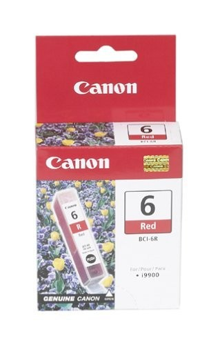 orig. Canon Tintenpatrone BCI-6 R Red/Rot
