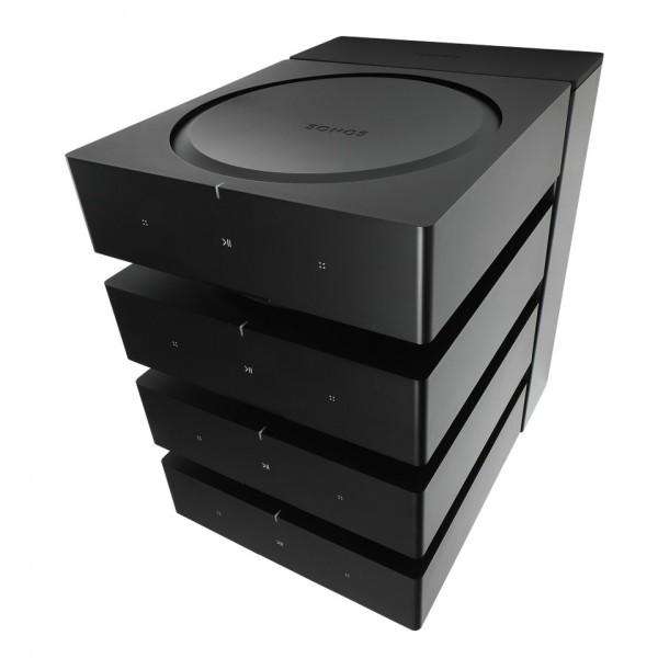Flexson FLXSAX4DK1021 Schwarz Dock für 4 Sonos Amp