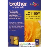 orig. Brother Tintenpatrone LC-1100Y Yellow/Gelb