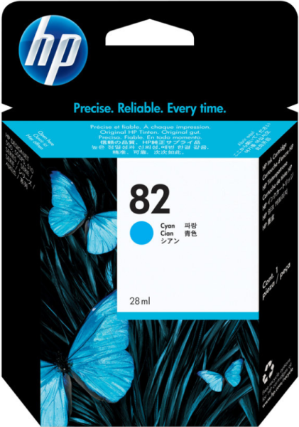 Orig. Tintenpatrone HP C4911A Nr. 82 cyan/blau 69ml