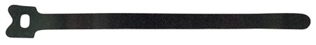 Velcro Klett-Klebebinder One-Wrap Strap 13x200mm, Trommel mit 750 Stk. schwarz