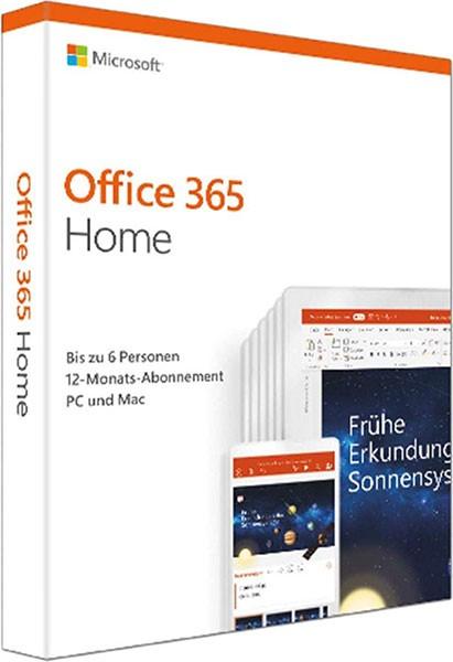 MS Office 365 Family 1 Jahr bis zu 5 Pc´s Microsoft (neue Verpackung)