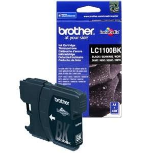 orig. Brother Tintenpatrone LC-1100BK black/schwarz