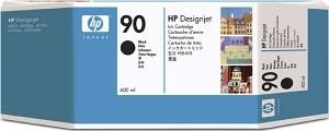 Orig. Tintenpatrone HP C5058A Nr.90 Black/Schwarz
