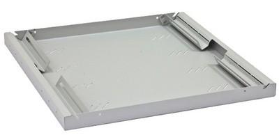 "Triton 19"" Fachboden, 1 HE, Tiefe: 850mm, lichtgrau RAL7035"