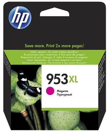 orig. Tintenpatrone HP 953XL F6U17AE, magenta/rot, ca. 1.600 Seiten