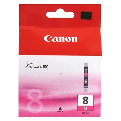 orig. Tintenpatrone Canon CLI8M magenta/rot